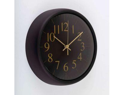 reloj-de-pared-de-22-5-cms-color-negro-con-numeros-dorados-614132