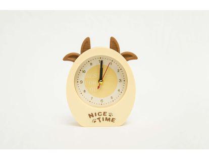 reloj-despertador-con-orejas-de-vaca-color-beige-614273
