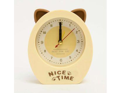 reloj-despertador-con-orejas-de-gato-color-beige-614281
