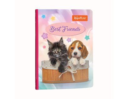 cuaderno-a-rayas-cosido-de-100-hojas-diseno-funny-pets-best-friends-7702124510771