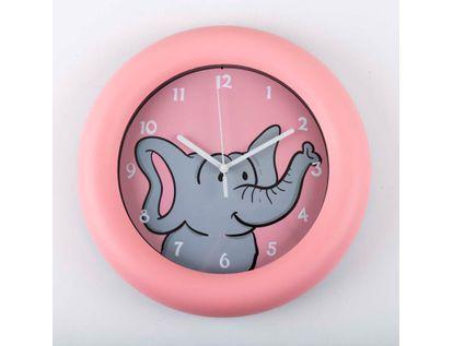 reloj-de-pared-de-25-2-cms-circular-color-rosado-diseno-elefante-614147