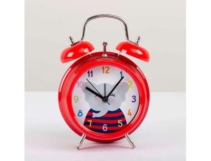 reloj-de-mesa-de-9-8-cms-con-alarma-color-rojo-diseno-elefante-614162