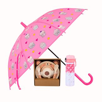 combo-paraguas-vajilla-infantil-termo-rosado-614116