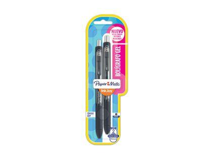 boligrafo-papermate-inkjoy-gel-x-2-color-negro-71641124448