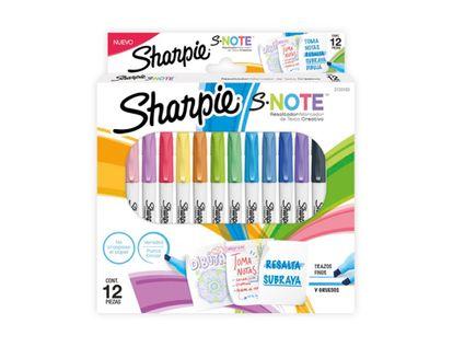 resaltador-delgado-sharpie-note-x-12-unidades-71641188679