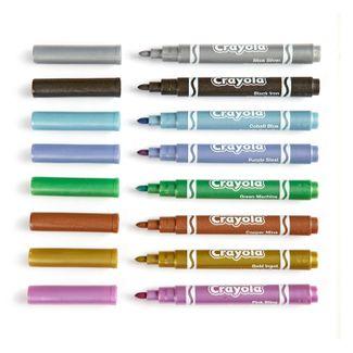 marcadores-metallic-crayola-x-8-unidades-71662286286