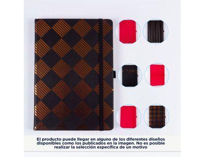 libreta-ejecutiva-negra-con-diseno-tribal-color-bronce-4895198612151