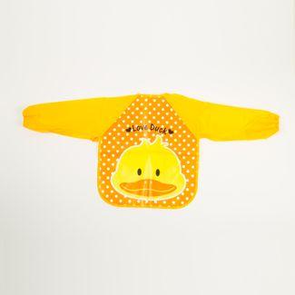 delantal-infantil-con-mangas-diseno-pato-talla-s-7701016845786