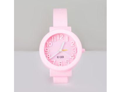 reloj-despertador-circular-rosado-diseno-de-pulso-614238