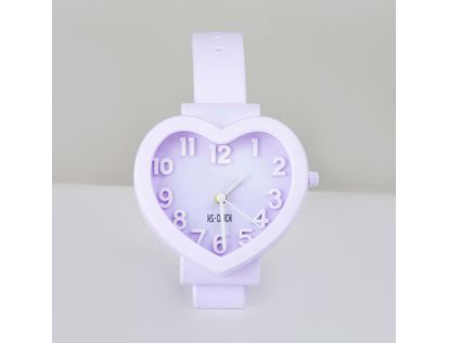reloj-despertador-corazon-morado-diseno-de-pulso-614245