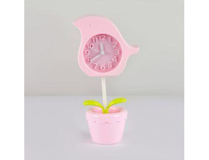 reloj-despertador-rosada-diseno-flor-614247