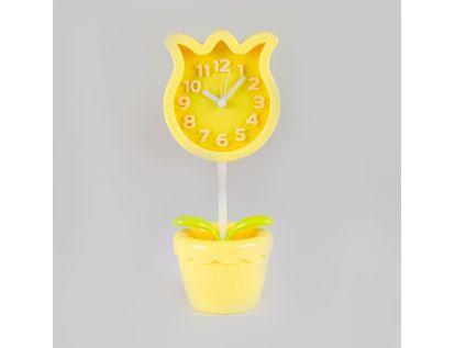 reloj-despertador-amarillo-diseno-tulipan-614262
