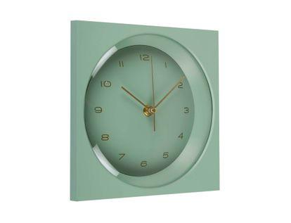 reloj-de-pared-verde-19-cm-cuadrado-614283