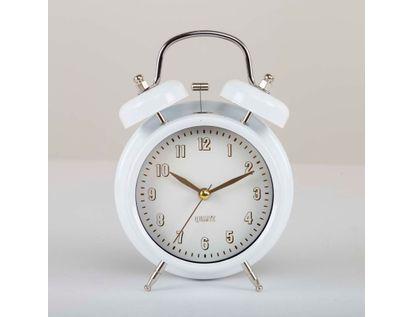 reloj-despertador-blanco-16-5-cm-metalico-614294