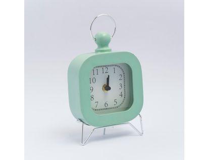 reloj-de-mesa-18-cm-verde-menta-614302