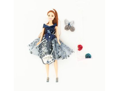 muneca-emily-30-cm-con-vestido-azul-y-mecedora-7701016040891