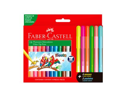 plumones-faber-castell-x-18-unidades-7754111022330