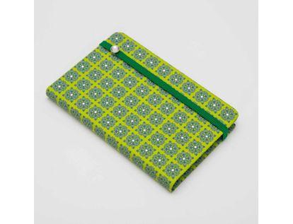 libreta-ejecutiva-de-9-3-cm-x-14-7-cm-hoja-a-rayas-diseno-vintage-pop-color-verde-con-azul-9788416055661