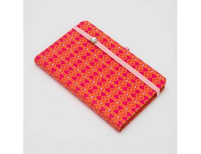 libreta-ejecutiva-de-9-5-cm-x-14-8-cm-vintage-pop-color-fucsia-con-naranja-9788416055678