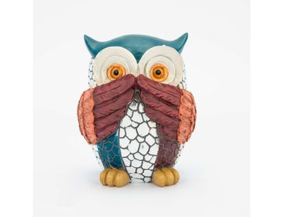 figura-decorativa-15-cm-buho-cubriendose-el-pico-615201