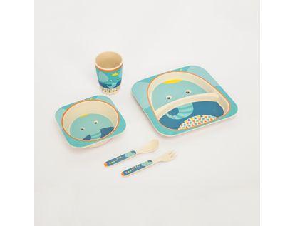 set-de-vajilla-infantil-x-5-piezas-diseno-elefante-7701016021227