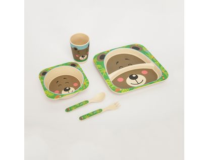 set-de-vajilla-infantil-x-5-piezas-diseno-oso-7701016021456