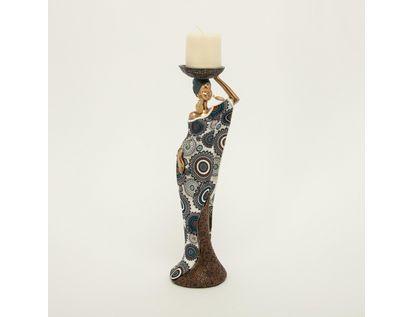 figura-de-mujer-africana-dorada-con-vela-de-37-2-cm-con-vestido-de-circulos-color-blanco-con-azul-7701016898423