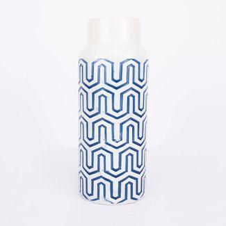 jarron-decorativo-color-blanco-con-grabado-azul-de-28-cm-7701016952309