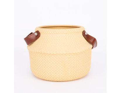 maceta-grabada-color-beige-con-manija-cafe-13-5-cm-7701016952576