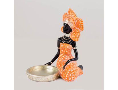 figura-de-mujer-africana-con-candelabro-de-18-cm-color-naranja-con-plateado-7701016976725