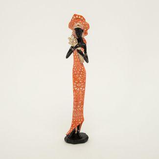 figura-de-mujer-africana-de-33-5-cm-con-tulipanes-color-naranja-con-plateado-7701016976756