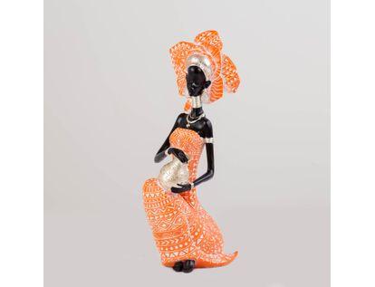 figura-40-5-cm-de-mujer-africana-con-jarra-color-naranja-con-plateado-7701016976770