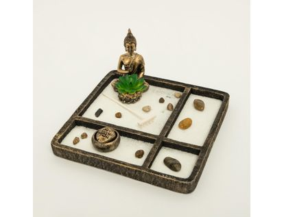 jardin-zen-con-candelabro-y-plata-artificial-color-negro-con-dorado-7701016976961