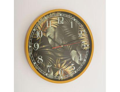 reloj-de-pared-de-37-8-cms-diseno-hojas-de-monstera-color-negro-con-dorado-7701018027685