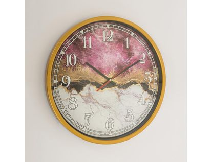 reloj-de-pared-de-37-9-cms-diseno-marmol-rosado-con-blanco-y-dorado-7701018027708
