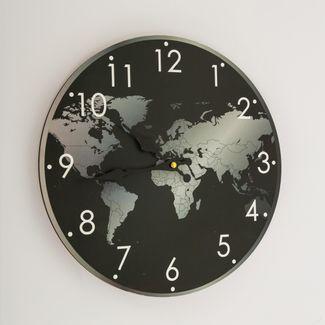 reloj-de-pared-de-33-cms-diseno-de-mapamundi-color-negro-con-gris-7701018027739