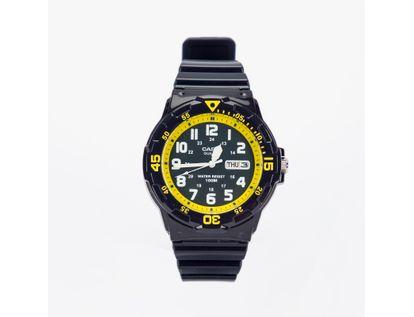 reloj-analogo-diseno-en-resina-azul-con-amarillo-4971850984191