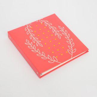 album-fotografico-rosado-de-20-hojas-diseno-hojas-y-corazones-614204