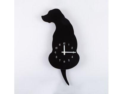 reloj-de-pared-32-cm-negro-diseno-de-perro-614527