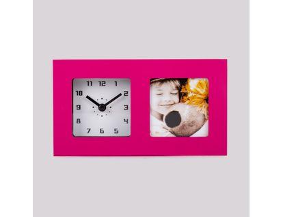 reloj-de-pared-portarretratos-de-1-foto-morado-614532