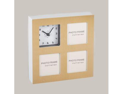 reloj-de-pared-portarretratos-de-3-fotos-dorado-614535