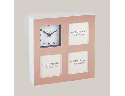 reloj-de-pared-portarretratos-de-3-fotos-rosado-metalizado-614536