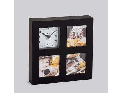 reloj-de-pared-portarretratos-de-3-fotos-negro-614537