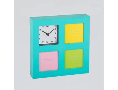 reloj-de-pared-portarretratos-de-3-fotos-verde-menta-614538