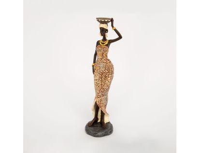 figura-decorativa-mujer-con-vestido-beige-bandeja-614570