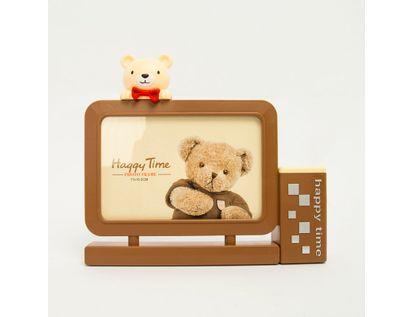 portarretrato-15-5-cm-con-portalapiz-happy-time-oso-beige-614637