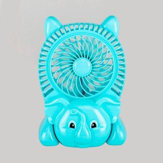 ventilador-inalambrico-usb-elefante-verde-menta-614667