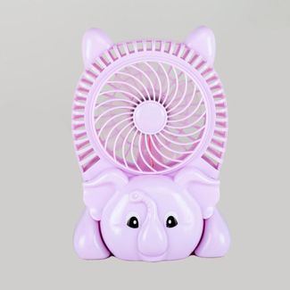 ventilador-inalambrico-usb-elefante-lila-614668