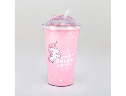 vaso-con-pitillo-unicornio-rosado-614674