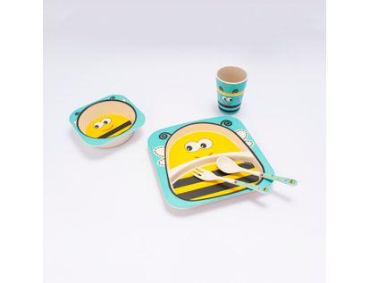set-de-recipientes-para-alimentos-5-piezas-abeja-614723